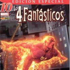 Cómics: LOS 4 FANTÁSTICOS V6. PANINI 2006. Nº 10 (EDICIÓN ESPECIAL). Lote 218657862
