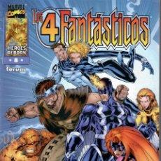 Cómics: LOS 4 FANTÁSTICOS V2 (HEROES REBORN) FORUM 1997. Nº 8. Lote 218657866