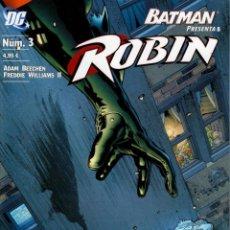Cómics: ROBIN (BATMAN PRESENTA) PLANETA DEAGOSTINI 2007. Nº 3. Lote 218657870