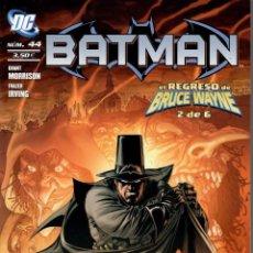 Cómics: BATMAN V2. PLANETA DEAGOSTINI 2007. Nº 44. Lote 218657876