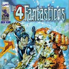 Cómics: LOS 4 FANTÁSTICOS V2 (HEROES REBORN) FORUM 1997. Nº 2. Lote 218657877