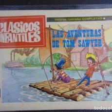 Cómics: CLASICOS INFANTILES: LAS AVENTURAS DE TOM SAWYER. Lote 218667853
