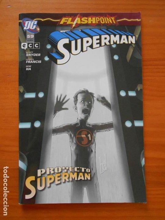 SUPERMAN Nº 59 - FLASHPOINT - DC - ECC (Z) (Tebeos y Comics - Comics otras Editoriales Actuales)