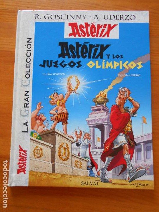 ASTERIX Y LOS JUEGOS OLIMPICOS - LA GRAN COLECCION Nº 12 - GOSCINNY, UDERZO - SALVAT - TAPA DURA (B1 (Tebeos y Comics - Comics otras Editoriales Actuales)