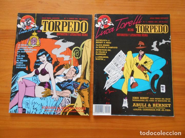 Cómics: LUCA TORELLI ES TORPEDO COMPLETA - Nº 1, 2, 3 Y 4 - MAKOKI (S) - Foto 2 - 218693822