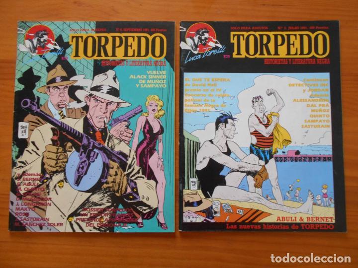 Cómics: LUCA TORELLI ES TORPEDO COMPLETA - Nº 1, 2, 3 Y 4 - MAKOKI (S) - Foto 3 - 218693822
