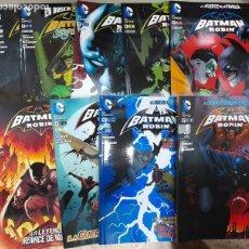 Cómics: BATMAN Y ROBIN, NUEVO UNIVERSO DC, LOTE DE 9 TOMOS, ECC COMICS, C9488. Lote 218827025