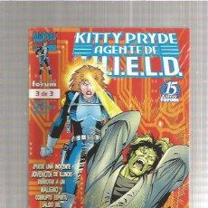 Cómics: KITTY PRYDE AGENTE S.H.I.E.L.D 3. Lote 218827031