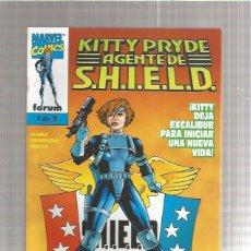 Cómics: KITTY PRYDE AGENTE S.H.I.E.L.D 1. Lote 218827423