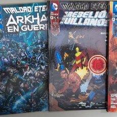 Cómics: DC MALDAD ETERNA, LOTE DE 4 ESPECIALES, ECC, C9490. Lote 218827448