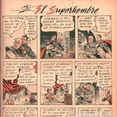 Cómics: 1949 BILLIKEN # 1559 SUPERMAN LINO PALACIO S/LAMINA PANCHO BRONCAS CONEJIN AGUILA JOSE LUIS SALINAS. Lote 218843011