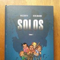 Cómics: SOLOS, TOMO I, GAZZOTTI, VEHLMANN, DIBBUKS, 2017. Lote 218848426