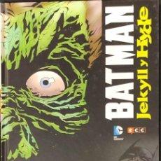 Cómics: BATMAN - JEKYLL Y HYDE - ECC -. Lote 218866765