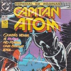 Cómics: COMIC DC CAPITÁN ATOM Nº 20 ED. ZINCO 52 PGS.. Lote 218881971