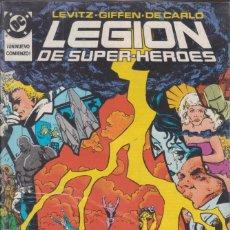 Cómics: COMIC DC LEGIÓN DE SUPER-HEROES Nº 18 ED. ZINCO.. Lote 218899512