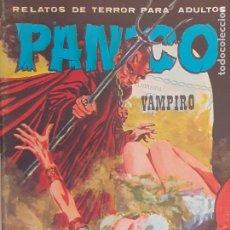 Cómics: PÁNICO Nº SIN NÚMERO. RELATOS DE TERROR. VAMPIRO. VILMAR 1981. Lote 218908245