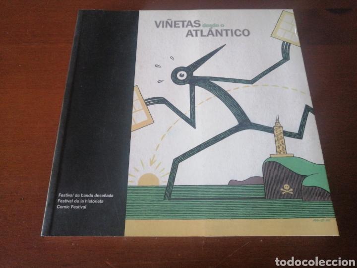 VIÑETAS DESDE O ATLÁNTICO 2014 CATÁLOGO FESTIVAL HISTORIETA CÓMIC A CORUÑA (Tebeos y Comics Pendientes de Clasificar)