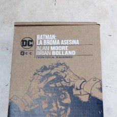 Cómics: BATMAN: LA BROMA ASESINA - EDICIÓN LIMITADA 30 ANIVERSARIO ( CAJA ) NUEVO ECC. Lote 218920198