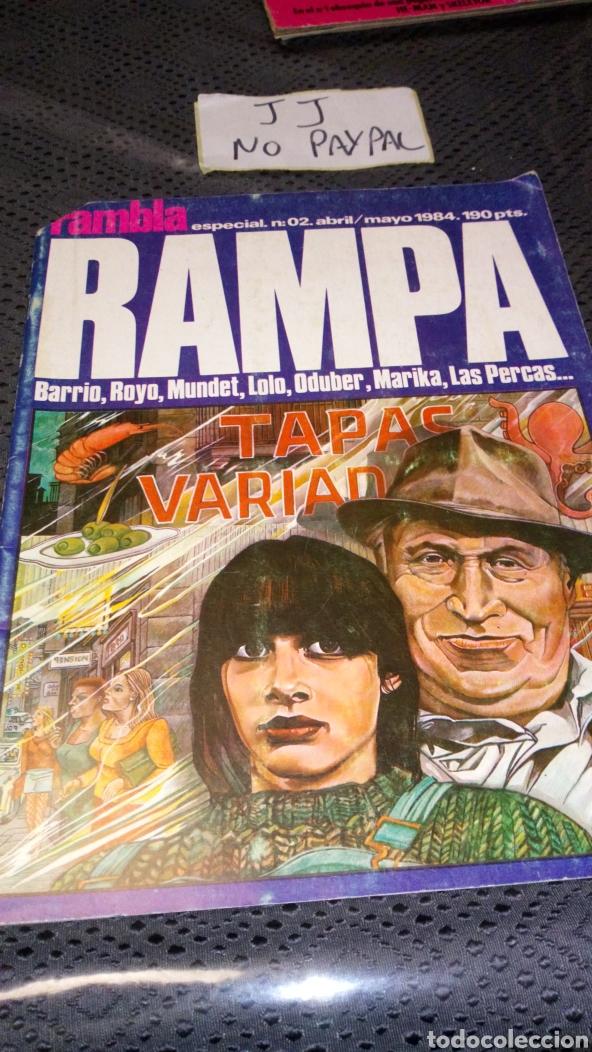 RAMPA RAMBLA ESPECIAL 2 VER FOTOS ESTADO GILLOTINADO (Tebeos y Comics - Comics otras Editoriales Actuales)
