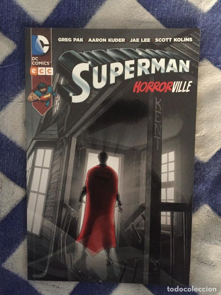 ¡¡¡TOMO SUPERMAN: HORRORVILLE. ECC. GREG PAK Y AARON JUDER. AÑO 2015!!! (Tebeos y Comics - Comics otras Editoriales Actuales)