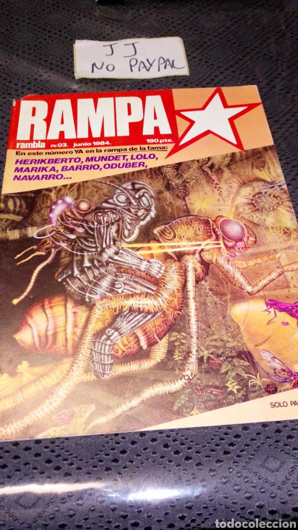 RAMBLA RAMPA 3 GILLOTINADO VER FOTOS ESTADO (Tebeos y Comics - Comics otras Editoriales Actuales)
