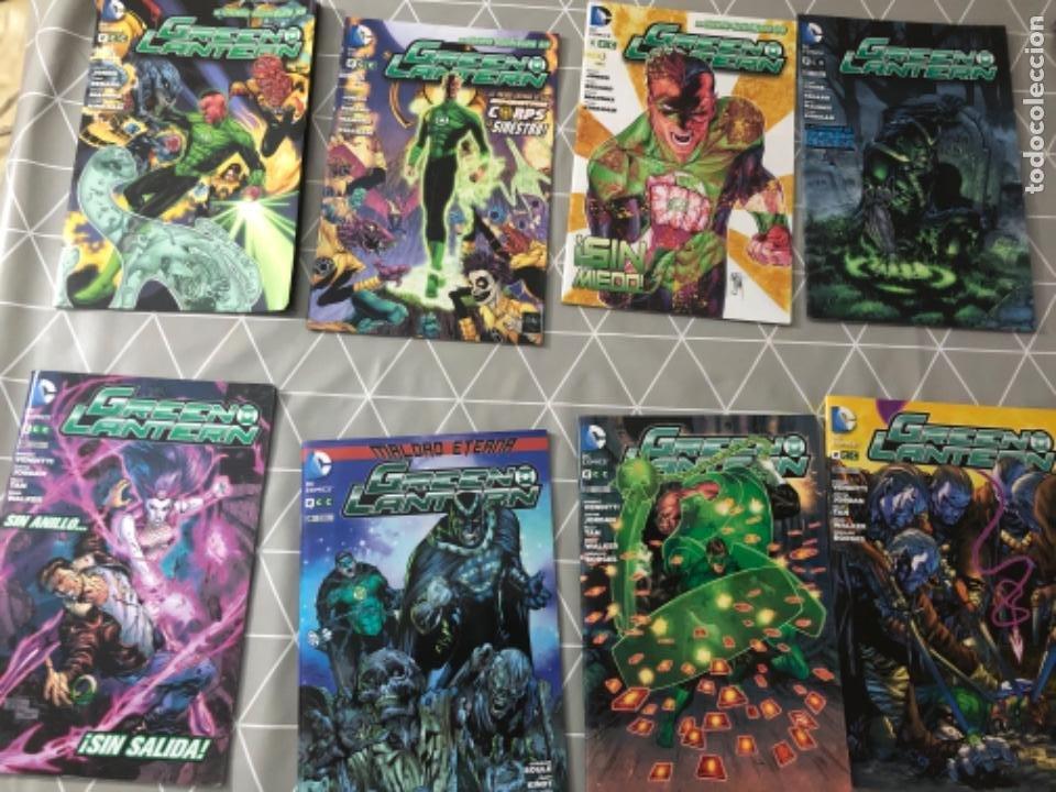 LOTE 13 CÓMICS EN PERFECTO ESTADO GREEN LANTERN LINTERNA VERDE DC CÓMICS. VER FOTOS (Tebeos y Comics - Comics Pequeños Lotes de Conjunto)