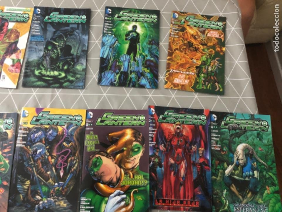 Cómics: Lote 13 cómics en perfecto estado Green Lantern Linterna Verde DC cómics. Ver fotos - Foto 2 - 219218356