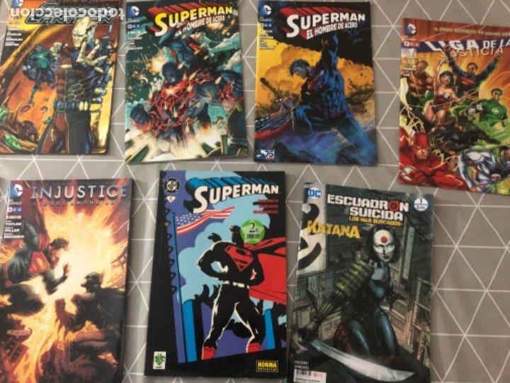 LOTE 11 CÓMICS EN PERFECTO ESTADO SUPERMAN, BATMAN, LINTERNA VERDE, DC CÓMICS. VER FOTOS (Tebeos y Comics - Comics Pequeños Lotes de Conjunto)
