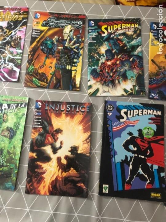 Cómics: Lote 11 cómics en perfecto estado SUPERMAN, BATMAN, LINTERNA VERDE, DC cómics. Ver fotos - Foto 3 - 219218948