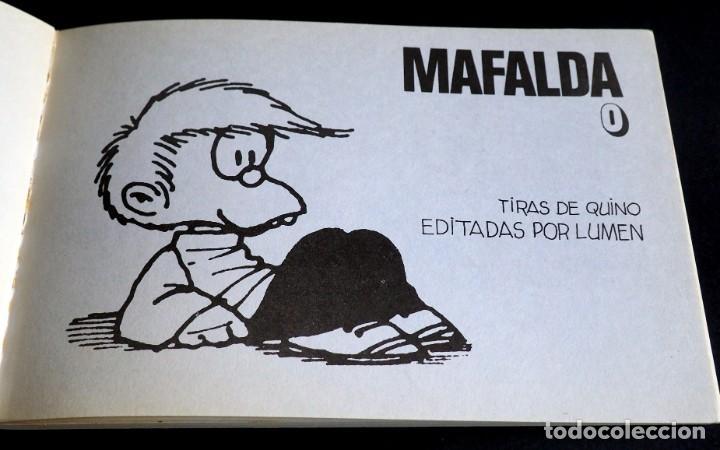 Cómics: COMICS MAFALDA DE QUINO .EDITORIAL LUMEN Nº 0 - Foto 3 - 219225507