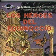 Cómics: VALERIAN VOLUMEN 07: LOS HEROES DEL EQUINOCCIO. Lote 219283077