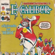 Cómics: COMIC MARVEL EXCALIBUR Nº 17 ED.PLANETA / FORUM. Lote 219304051