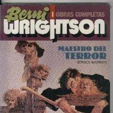 Cómics: TOUTAIN: BERNI WRIGHTSON: OBRAS COMPLETAS: MAESTRO DEL TERROR (EPOCA WARREN). Lote 219315207