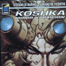 Cómics: COLECCION PANDORA NUMERO 068: KOSHKA: MORIR A TRAICION. Lote 219315213