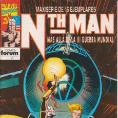 Cómics: COMIC MARVEL NTH-MAN Nº 12 ED.PLANETA / FORUM. Lote 219324620