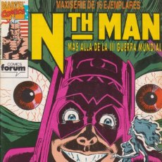 Cómics: COMIC MARVEL NTH-MAN Nº 13 ED.PLANETA / FORUM. Lote 219324723