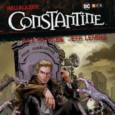 Cómics: HELLBLAZER : CONSTANTINE - ECC / DC / TAPA DURA / RAY FAWKES & JEFF LEMIRE. Lote 219335083