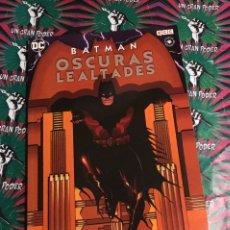 Cómics: OTROS MUNDOS BATMAN OSCURAS LEALTADES. Lote 219341762
