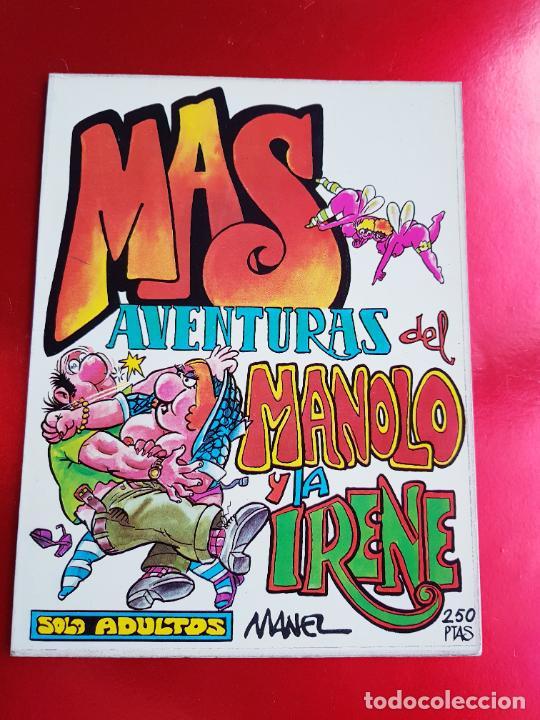 Cómics: COLECIÓN-MANOLO E IRENE-6 TOMOS(18 NÚMEROS)+2 FASCÍCULOS APARTE-BUEN ESTADO-VER FOTOS - Foto 8 - 219434488