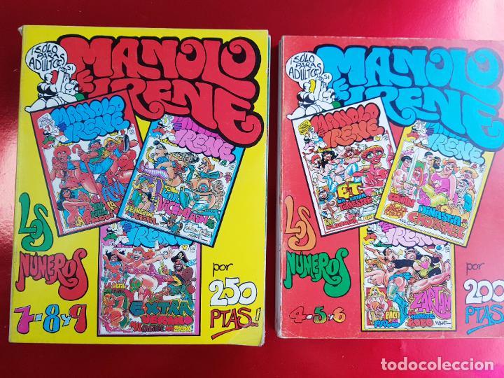COLECIÓN-MANOLO E IRENE-6 TOMOS(18 NÚMEROS)+2 FASCÍCULOS APARTE-BUEN ESTADO-VER FOTOS (Tebeos y Comics Pendientes de Clasificar)