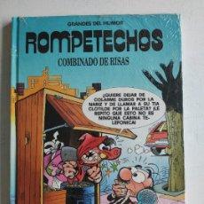 Cómics: GRANDES DEL HUMOR, Nº 5 - ROMPETECHOS - COMBINADO DE RISAS, EL PERIODICO, PRECINTADO. Lote 219497190