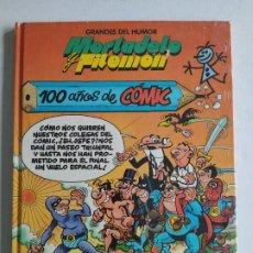 Cómics: GRANDES DEL HUMOR, Nº 4 - MORTADELO Y FILEMON - 100 AÑOS DE COMIC - EL PERIÓDICO, PRECINTADO. Lote 219498526