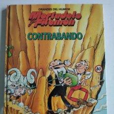 Cómics: GRANDES DEL HUMOR, Nº 7 - MORTADELO Y FILEMON - CONTRABANDO - EL PERIÓDICO, PRECINTADO. Lote 219498911