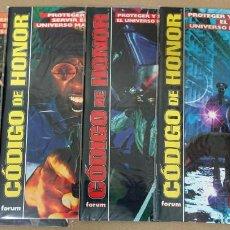 Comics: CÓDIGO DE HONOR. COMPLETA 1 AL 4. FORUM. MUY BUENOS. TODOS ENFUNDADOS.. Lote 219537627