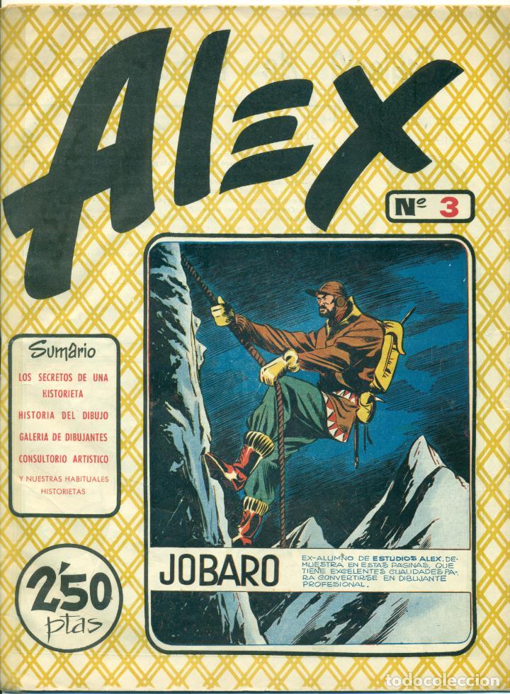 Cómics: ALEX DE EDITORIAL SIMBOLO COMPLETA 10 EJEMPLARES, CON DOS CON ALGUN DEFECTO - Foto 3 - 219696188