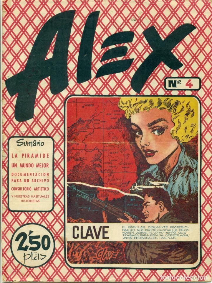 Cómics: ALEX DE EDITORIAL SIMBOLO COMPLETA 10 EJEMPLARES, CON DOS CON ALGUN DEFECTO - Foto 5 - 219696188