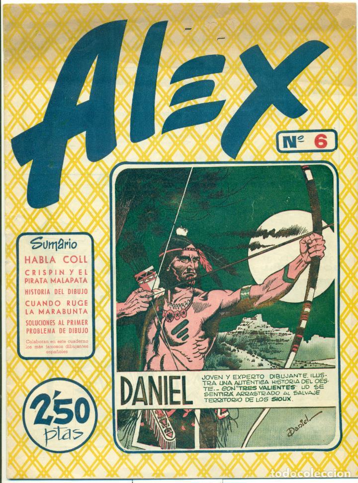 Cómics: ALEX DE EDITORIAL SIMBOLO COMPLETA 10 EJEMPLARES, CON DOS CON ALGUN DEFECTO - Foto 7 - 219696188