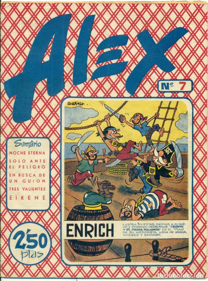 Cómics: ALEX DE EDITORIAL SIMBOLO COMPLETA 10 EJEMPLARES, CON DOS CON ALGUN DEFECTO - Foto 8 - 219696188