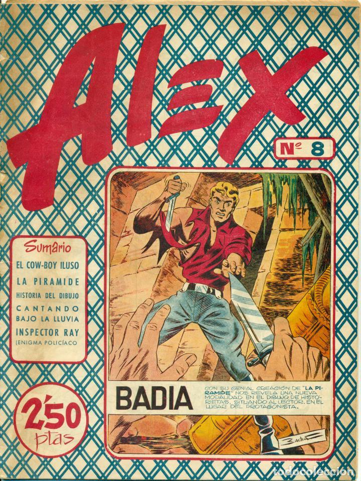 Cómics: ALEX DE EDITORIAL SIMBOLO COMPLETA 10 EJEMPLARES, CON DOS CON ALGUN DEFECTO - Foto 9 - 219696188