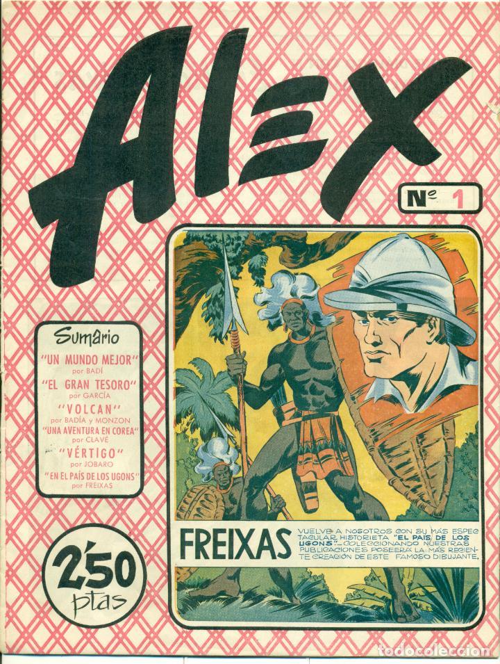 ALEX DE EDITORIAL SIMBOLO COMPLETA 10 EJEMPLARES, CON DOS CON ALGUN DEFECTO (Tebeos y Comics - Comics Colecciones y Lotes Avanzados)